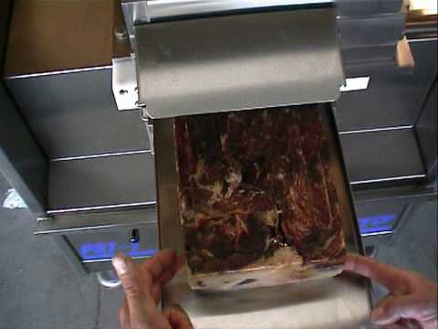Prensado de jamon montenegro mpg youtube - Maquina de cocinar ...