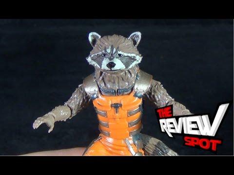 Toy Spot - Hasbro Marvel Legends Infinite Series Guardians of the Galaxy Rocket Raccoon