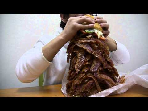 Burger King Whopper With 1050 Strips Of Bacon