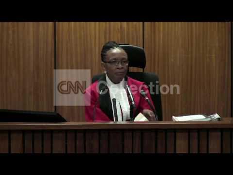 SOUTH AFRICA-PISTORIUS SCREAMS LIKE A WOMAN?