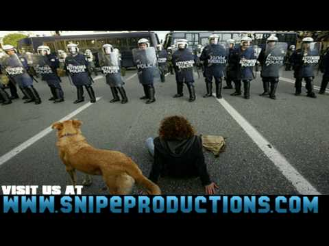 GREECE RIOT DOG BITING POLICE (HD)-SNIPEPRODUCTIONS