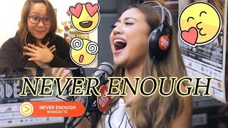 "[Reaction] Morissette - Morissette - ""Never Enough"" LIVE on Wish 107.5 Bus  #MVReacts"