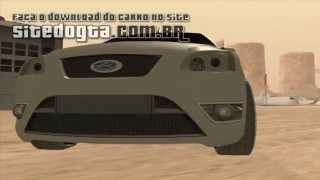 Carro brasileiro Ford Focus 2009 para GTA San Andreas
