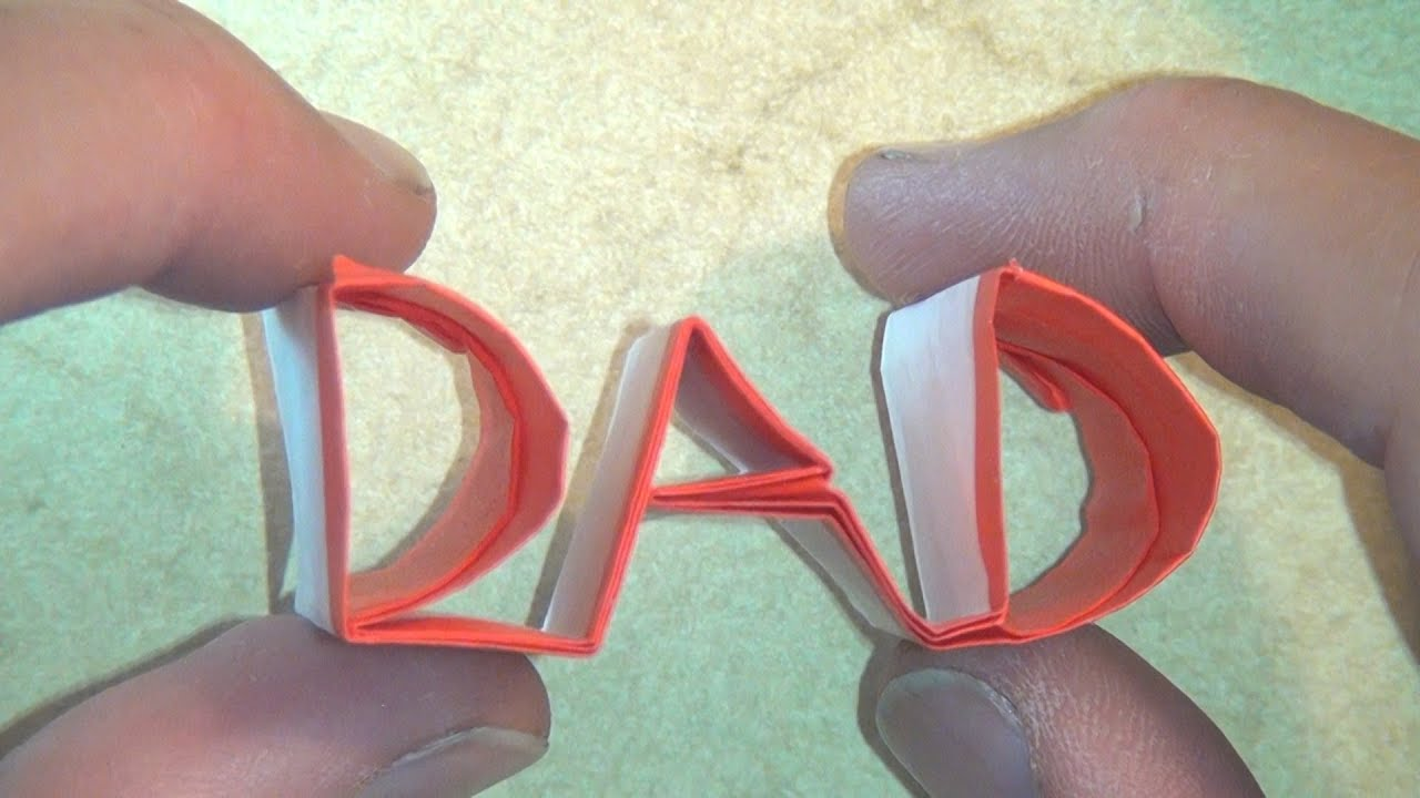 origami dad youtube