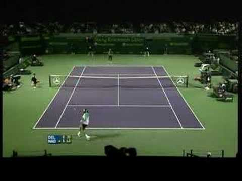 Nadal - Del Potro (Play of the Week)