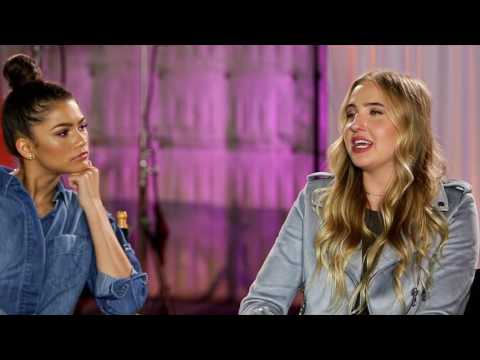 K.C. Undercover | Veronica and Zendaya Interview | Official Disney Channel US