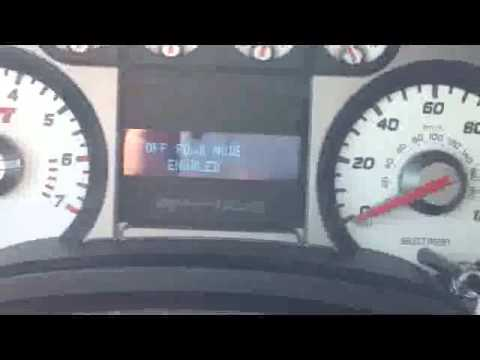 How To: Disabling Traction Control on Ford Raptor