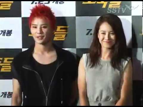 Song, ji, hyo, and Kim Jong Kook Respond