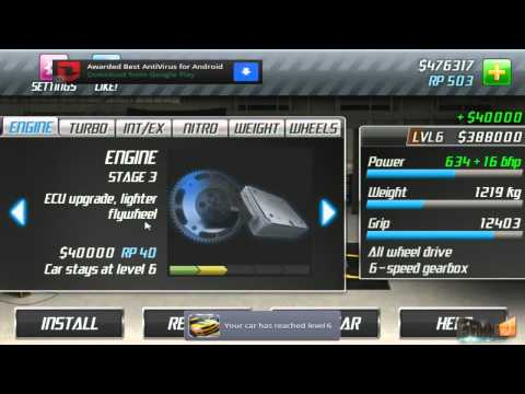 Android Play: Drag Racing Career Stage 6