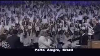 Benny Hinn - Holy Spirit Outpouring in Porto Alegre, Brazil