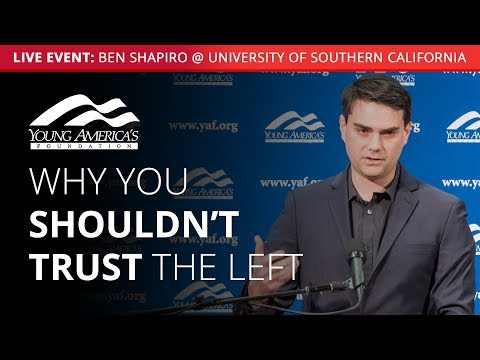 Ben Shapiro LIVE at University of Southern California