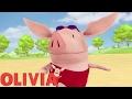 Olivia The Pig | Olivia Goes To The Beach | Olivia Full Episodes