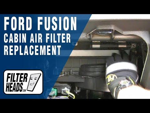 Cabin air filter replacement- Ford Fusion