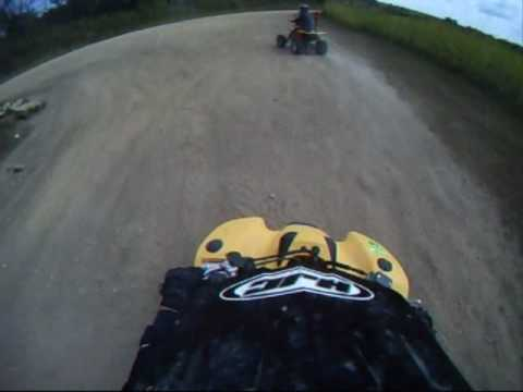 ATV Helmet Cam - ATV Trail in Belmont WI - 2nd Video