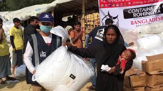 Bedding Materials Distributions - Rohingya JAN 2018