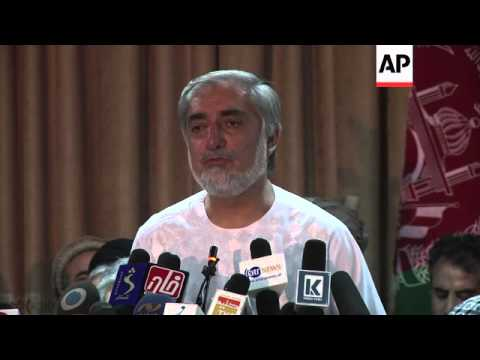 Afghan candidate says no to partial results