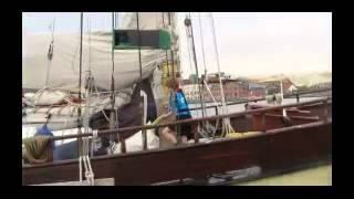 "Brixham sailing trawler ""Leader"""