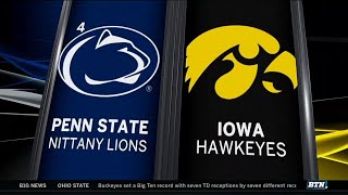 Penn State at Iowa - Football Highlights