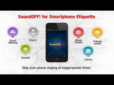 SoundOFF! Android App - Make Your Smartphone SMARTER!
