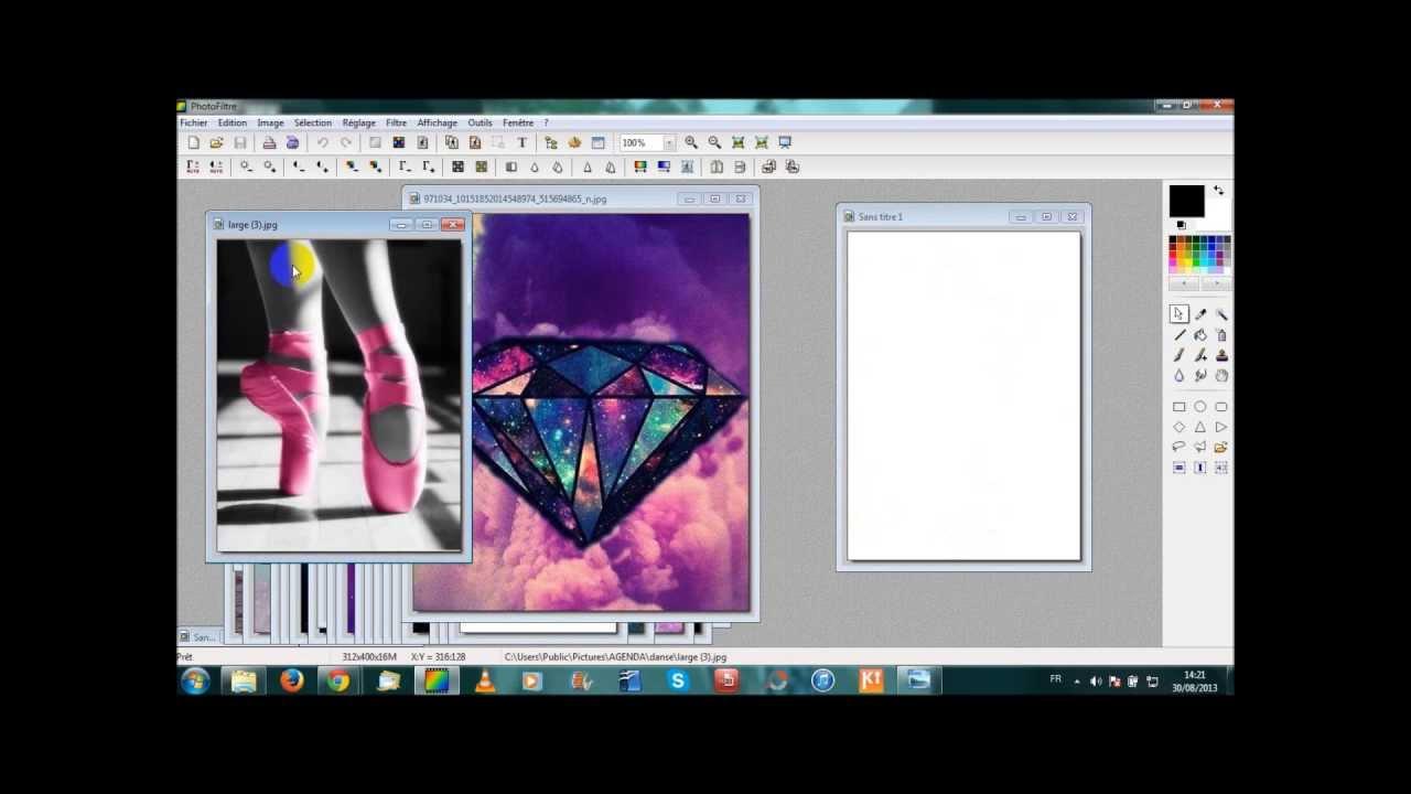 Personnaliser son agenda ou un classeur avec photofiltre youtube - Comment customiser un classeur ...