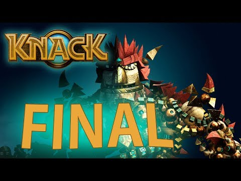 Knack - FINAL ÉPICO [ Playstation 4 - Playthrough em PT-BR ]