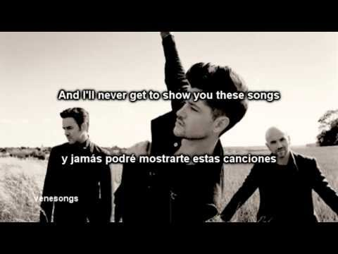 The Script - If You Could See Me Now (letra Español-inglés) video