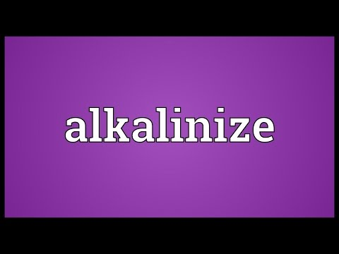 Header of alkalinize