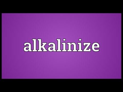 Header of alkalinize