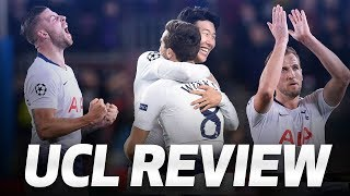 SPURS39 CHAMPIONS LEAGUE GROUP STAGE REVIEW