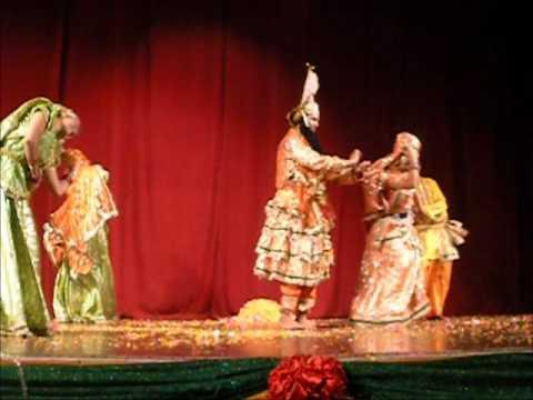 Shri Krishna Lila By Vrindavan Charkula Arts Ram Lila Group At Suva Civic Auditorium video