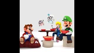Super Mario Odyssey: Cereal Amiibo.