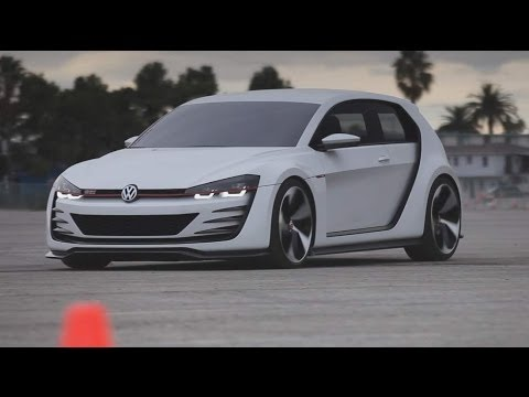 Volkswagen Design Vision GTI - KBB Drives a Concept Car