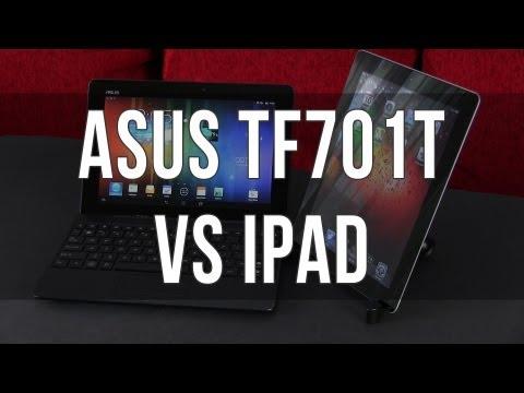 Asus Transformer Pad TF701T vs iPad 4 comparison