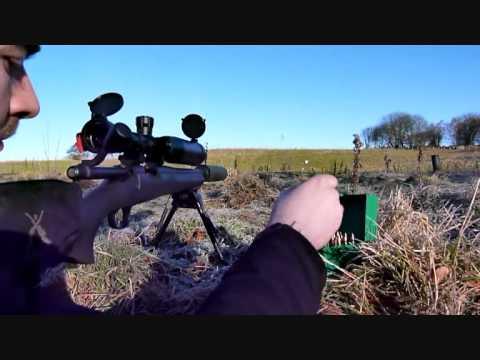 Remington 700 SPS Tactical .223. 5 shot group