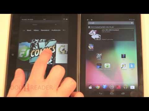 Amazon Kindle Fire HD 7 vs Google Nexus 7