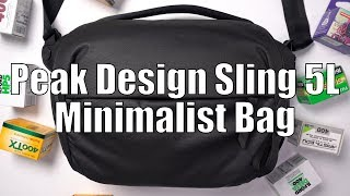 Ultimate Minimalist Camera Bag | Peak Design Sling 5L