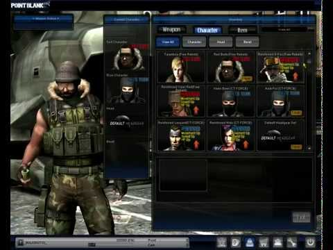 Point Blank Indonesia (Gemscool) - Interface + Download