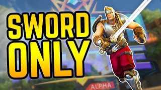The SWORD SQUAD | Sword Only Challenge in Realm Royale
