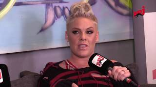 Interview Pink  - Guillaume Radio sur NRJ
