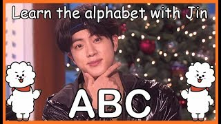 LEARN THE ALPHABET WITH BTS' JIN