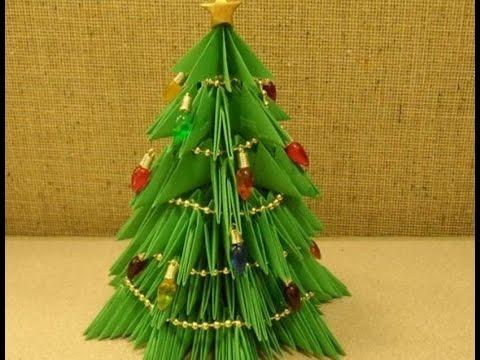 Сделать елку своими руками из бумаги фото
