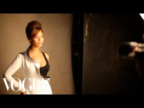 Beyonce's March 2013 Vogue Magazine Cover Shoot - Vogue Diaries