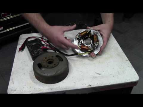Ignition system testing. Magneto coils. Points and CDI