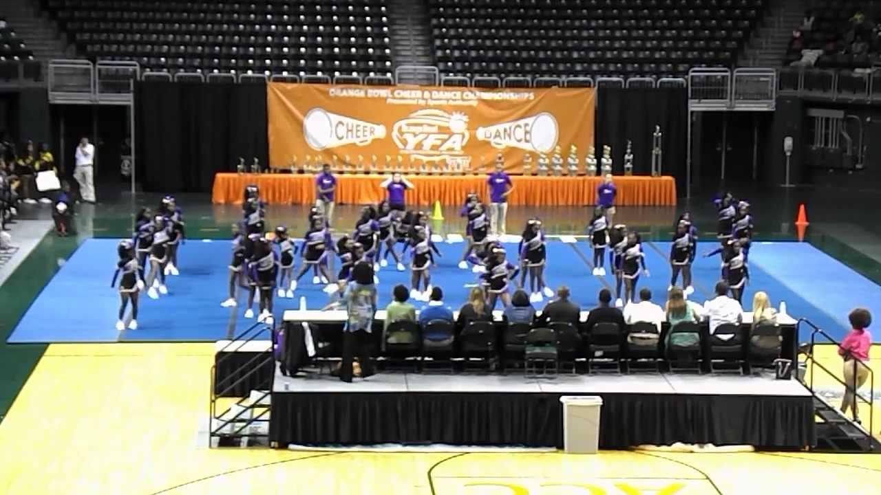 Miami Gardens Ravens 12u 2013 Orange Bowl Cheer Dance Competition Youtube