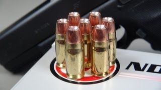 .357 SIG Underwood 125 gr Gold Dot Ammo Test (SIM-TEST)