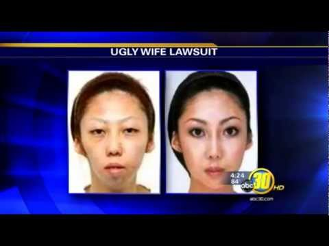 Chinese man sues wife for being ugly - wins $120k