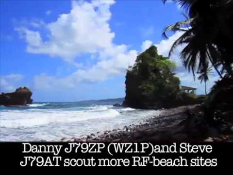 Buddies in the Caribbean 2011 Mini-DXpedition to Dominica Part 2