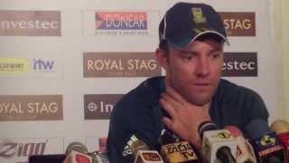 AB de Villiers Post Match Press Conference - 3rd ODI South Africa v Sri Lanka