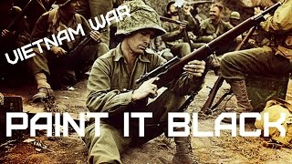 Vietnam War • The Rolling Stones - Paint In Black