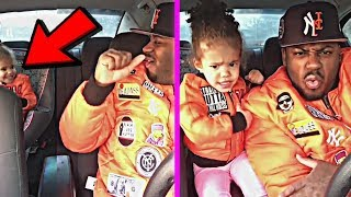 """Download Lagu Cute Baby Daughter Dances with her daddy To """"Finesse by Cardi B & Bruno Mars"""" Gratis STAFABAND"""